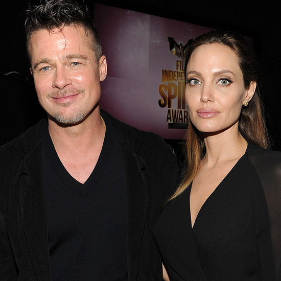 Brad Pitt and Angelina Jolie at the Spirit Awards 2014