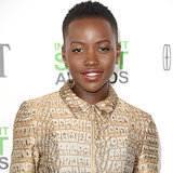 Lupita Nyong'o In Playsuit At 2014 Independent Spirit Awards