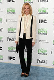 Maria Bello at the 2014 Spirit Awards