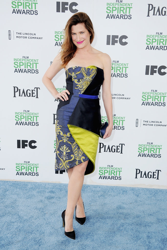 Kathryn Hahn at the 2014 Spirit Awards