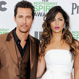 Matthew McConaughey, Camila Alves Independent Spirit Awards