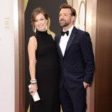 Olivia Wilde and Jason Sudeikis at 2014 Oscars