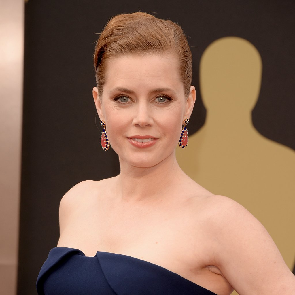 Amy Adams Hair and Makeup at Oscars 2014