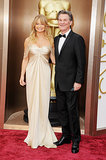 Goldie Hawn and Kurt Russell attended the Oscars.