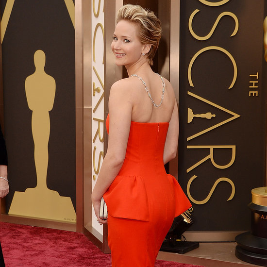 Jennifer Lawrence Falling at 2014 Oscars