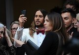 Jared Leto at the 2014 Oscars.