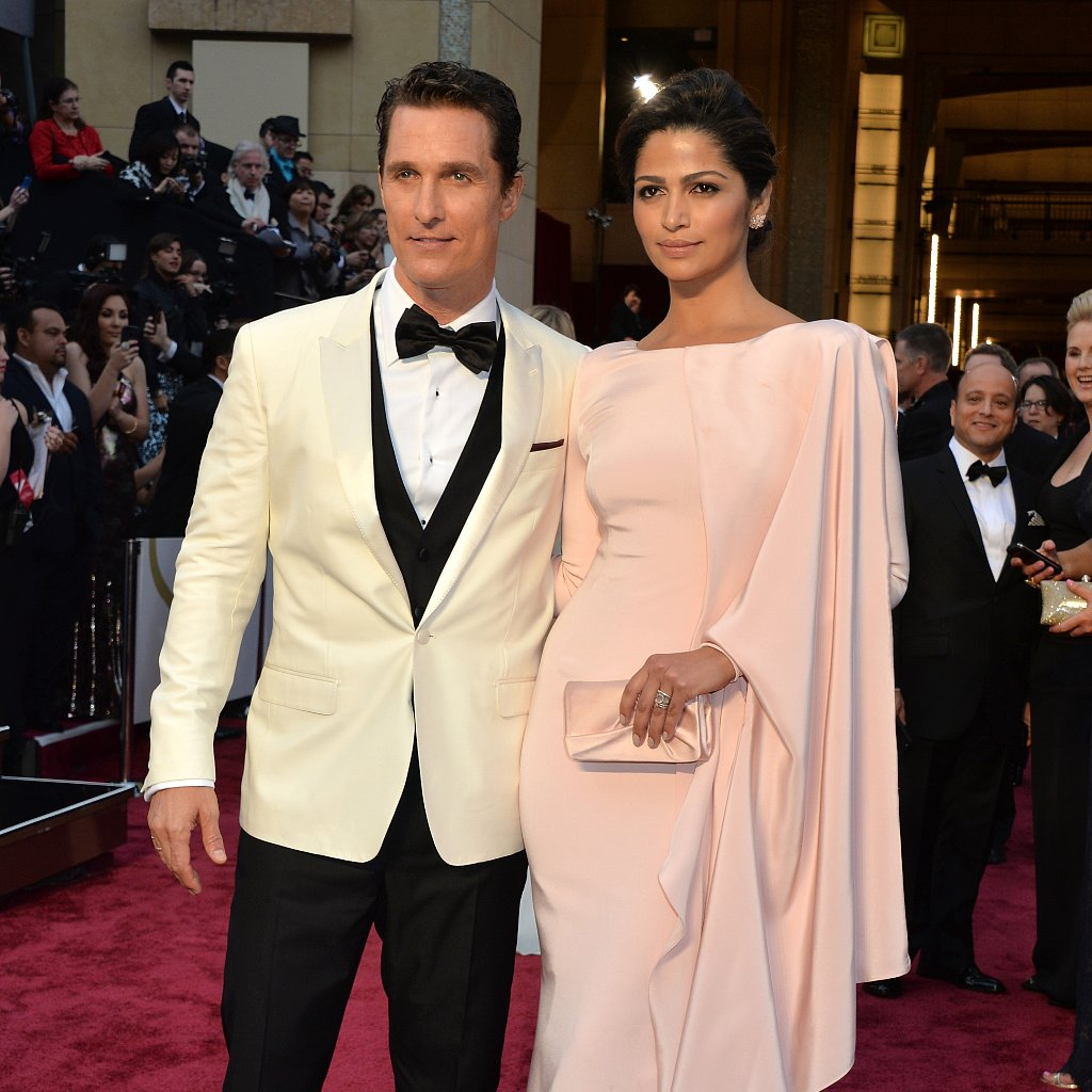 Matthew McConaughey Red Carpet Suits
