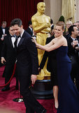 Amy Adams and Darren Le Gallo at the 2014 Oscars.