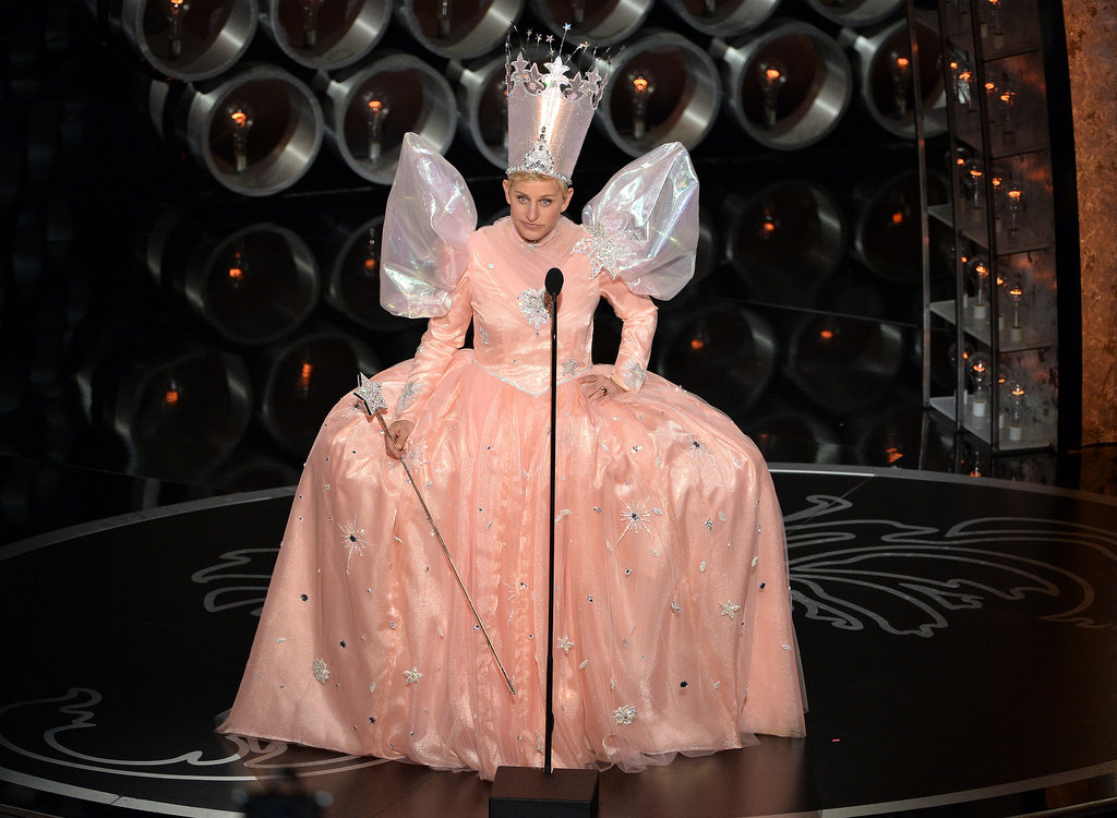 Ellen DeGeneres really went for it with her Wizard of Oz costume.