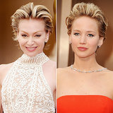These Celebrities Were Totally Twinning on the Oscars Red Carpet
