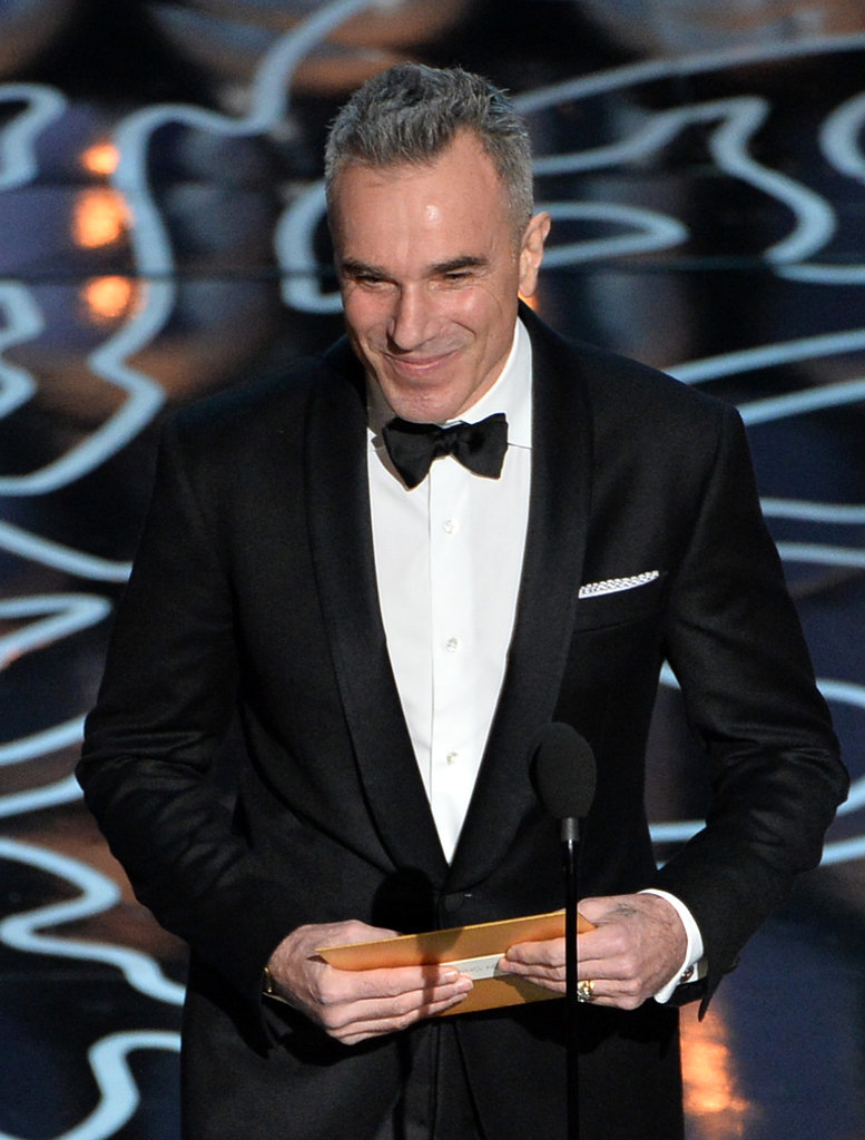 Daniel Day-Lewis presented an award.