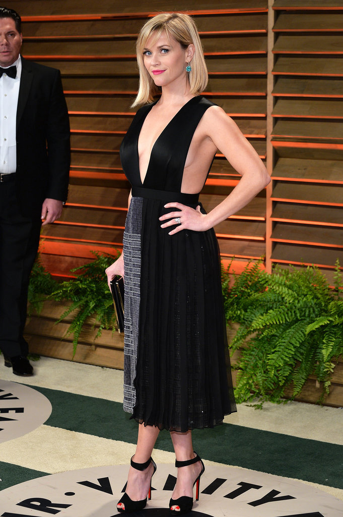 Reese Witherspoon Really Took the Plunge Tonight