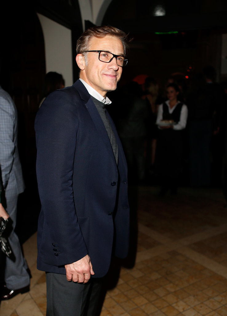 Christoph Waltz joined the fun.