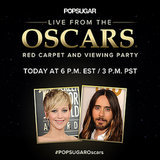 Join Us LIVE For Oscars Tonight!