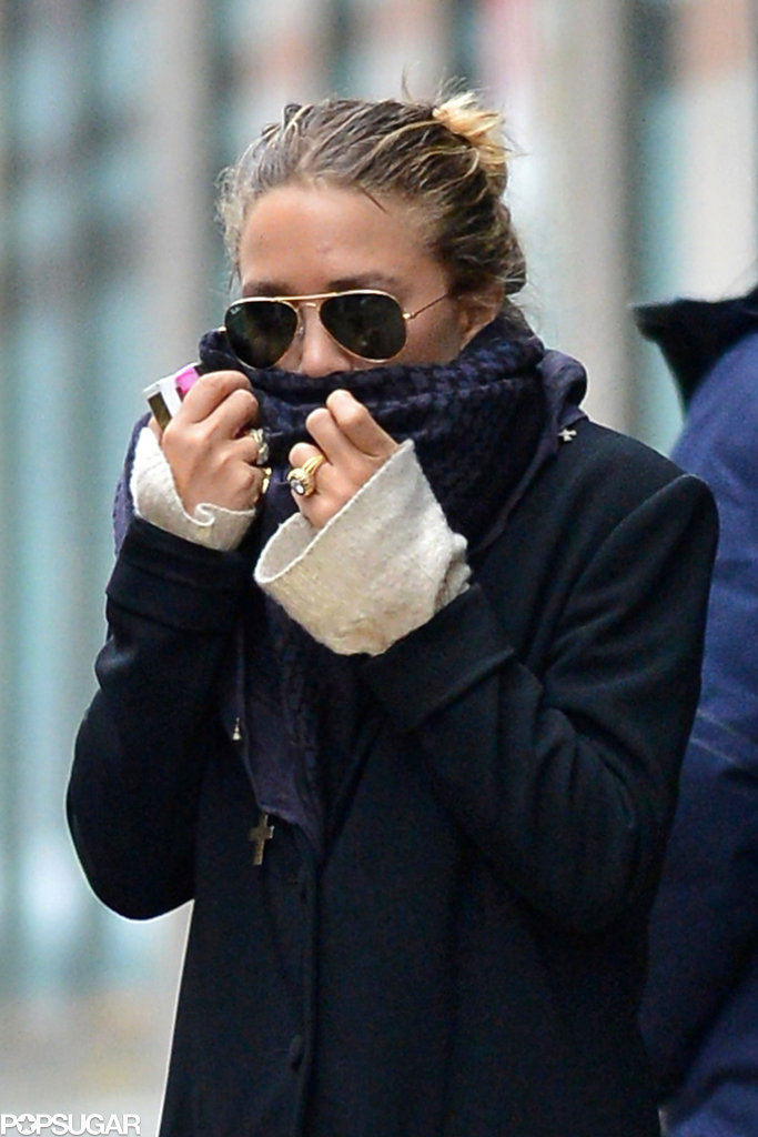 See Mary-Kate Olsen's Huge Engagement Ring!