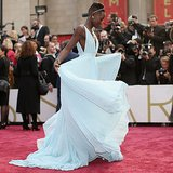 Lupita Nyongo 2014 Oscar Awards Red Carpet