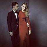 Adam Levine and Behati Prinsloo were as sexy as ever.  Source: Instagram user vanityfair