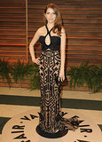 Anna Kendrick wore a halter dress.
