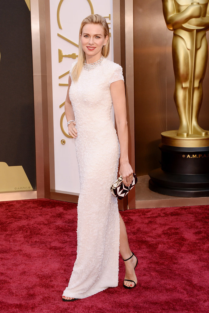 Naomi Watts in Calvin Klein Collection at the Oscars