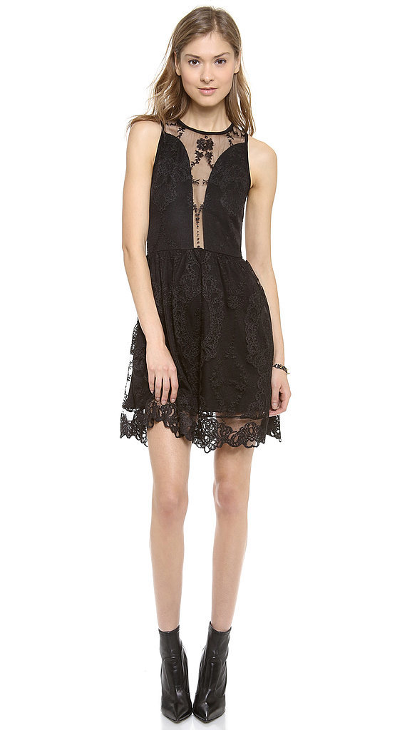 For Love & Lemons Black Lace Dress ($189)