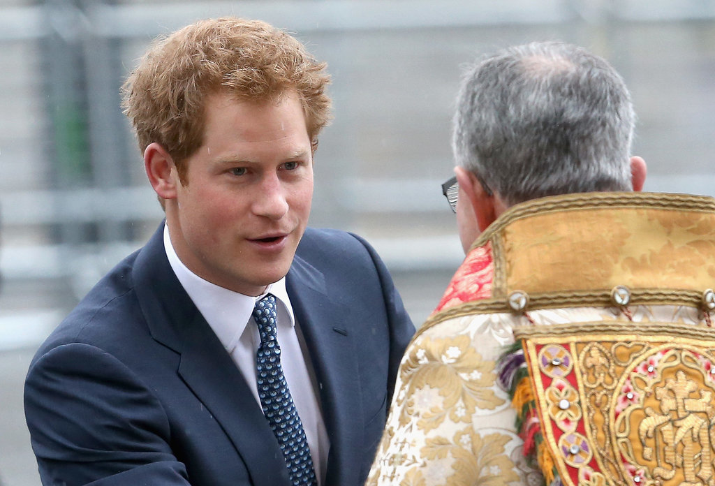Prince Harry celebrated the life of Nelson Mandela at the National Service of Thanksgiving.