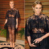 Copy Diane Kruger's Sheer Black Lace (Starting at Just $30)
