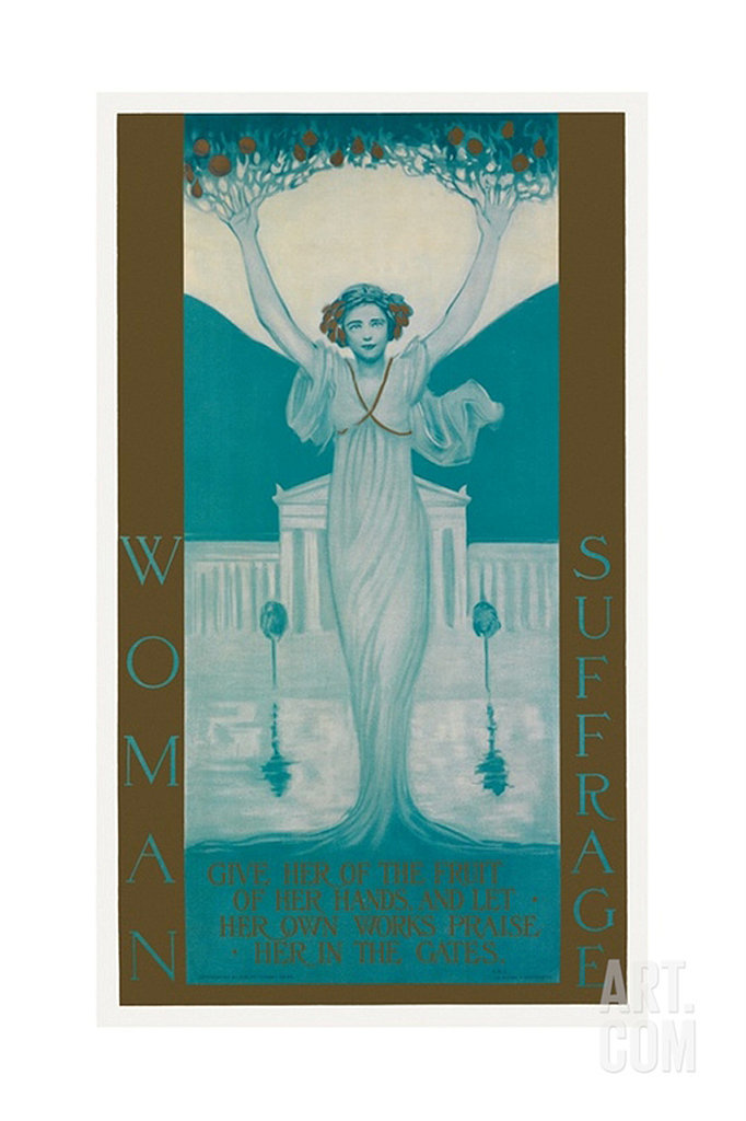Women's Suffrage Poster