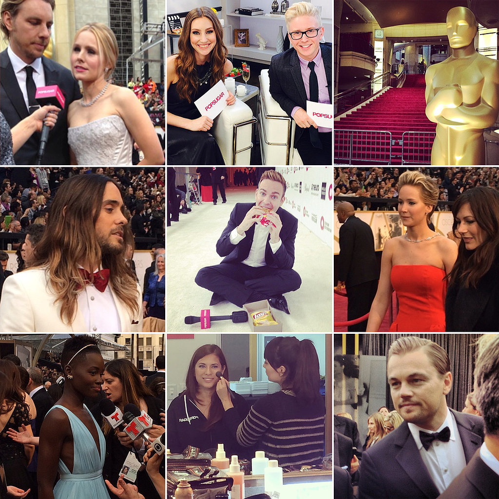 Instagram Diary: POPSUGAR at the Oscars!