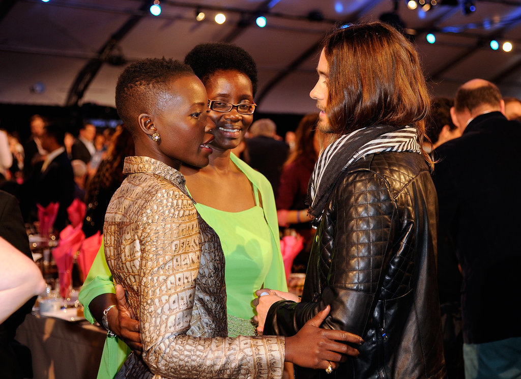 28. Jared Leto Admits His Crush on Lupita Nyong'o