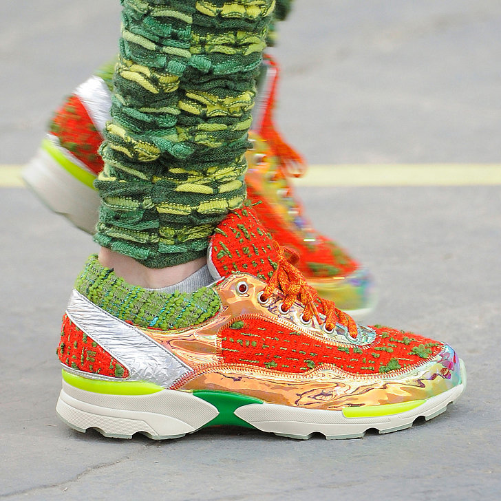 Chanel Says It's OK to Wear Sneakers — Our Feet Rejoice