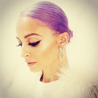 Nicole Richie Purple Hair Instagram Picture