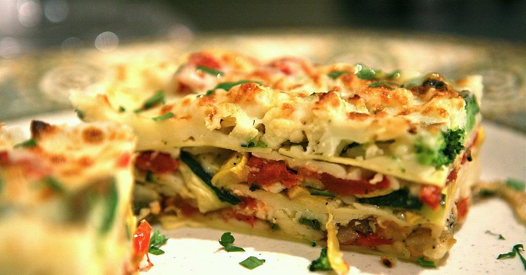 Vegetable Lasagna | 24 Freezable Dishes to Bring New Moms | POPSUGAR ...