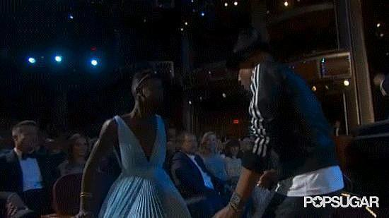 Best Supporting Shimmy in a Musical Number (Runner-Up): Lupita Nyong'o