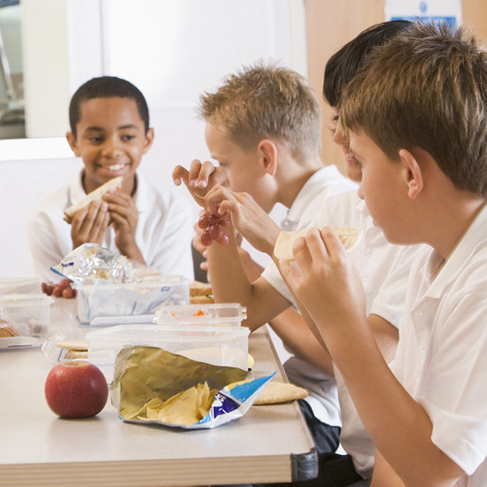 Boy Pays For Students' School Lunches