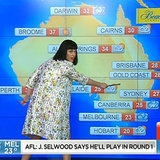 Katy Perry Presents Australian Weather Forecast | Video