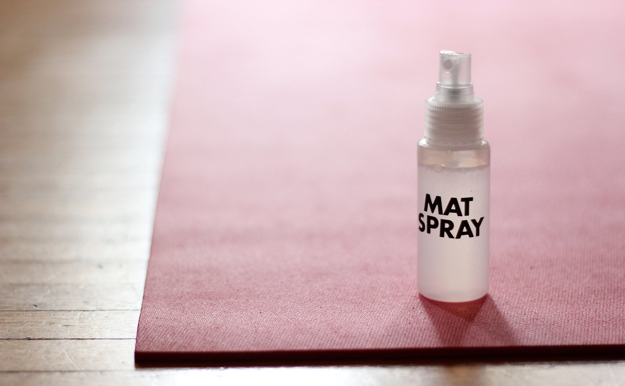 Yoga Mat Spray Recipe Popsugar Fitness