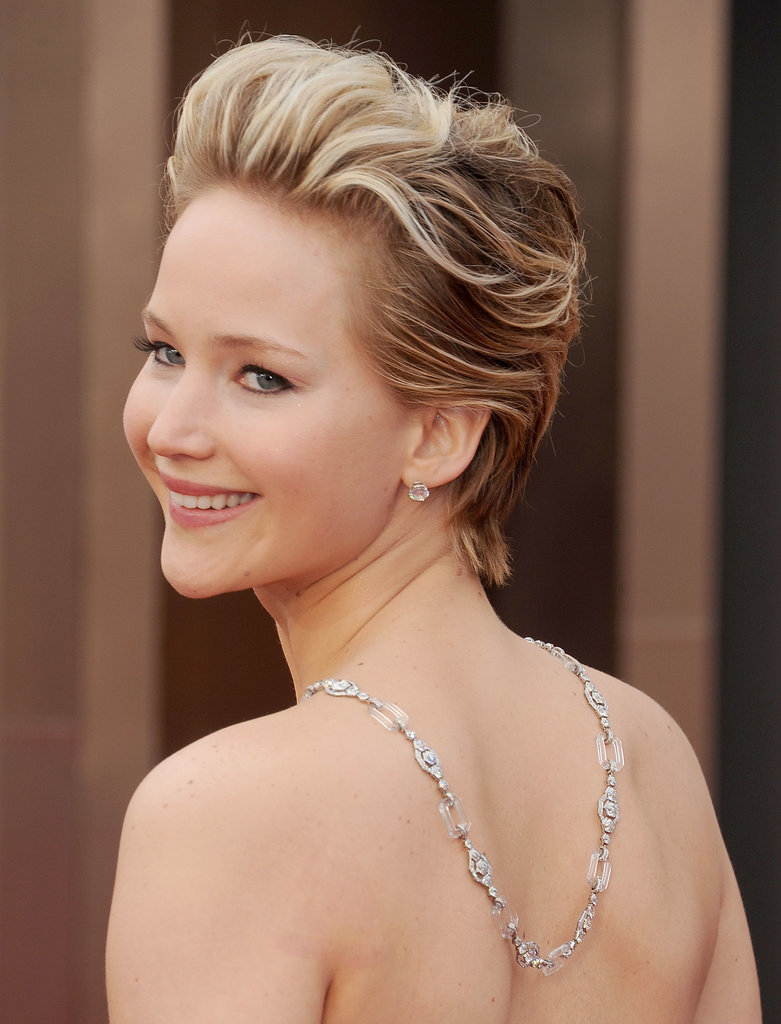 Jennifer Lawrence's Jewelry at the Oscars