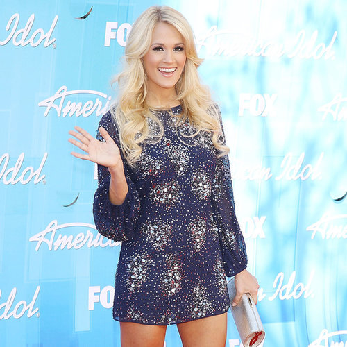 Carrie Underwood Wearing Minidresses