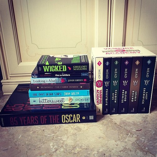 Alexlondon23 shared her February book haul.