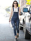 Alessandra Ambrosio's Overalls: Proof the Trend Isn't Going Anywhere
