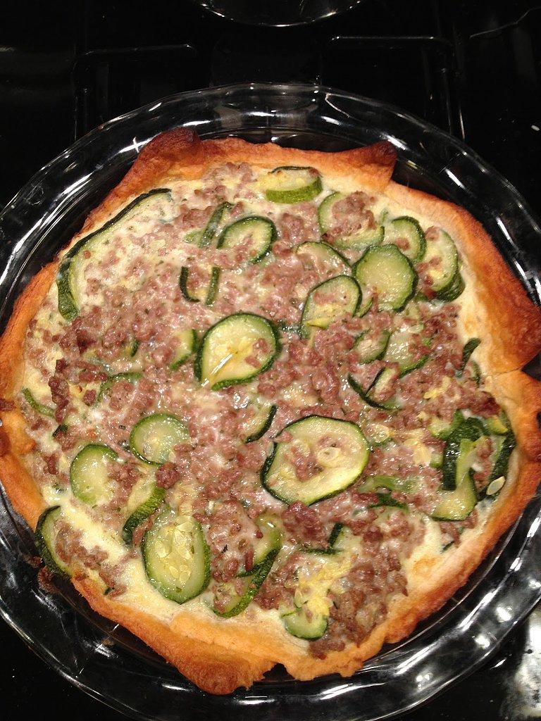 Zucchini Beef Pie