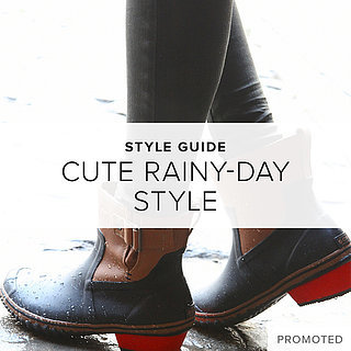 Cute Rainy-Day Style