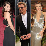 Australian Celebrities & Dresses At The Oscars; Skin Health