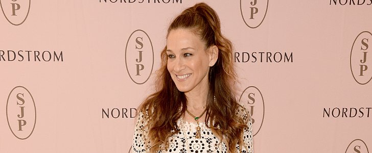 Discuss: Sarah Jessica Parker's Peppy Half-Up Hairstyle