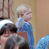 Little Girl Conducting Church Choir | Video
