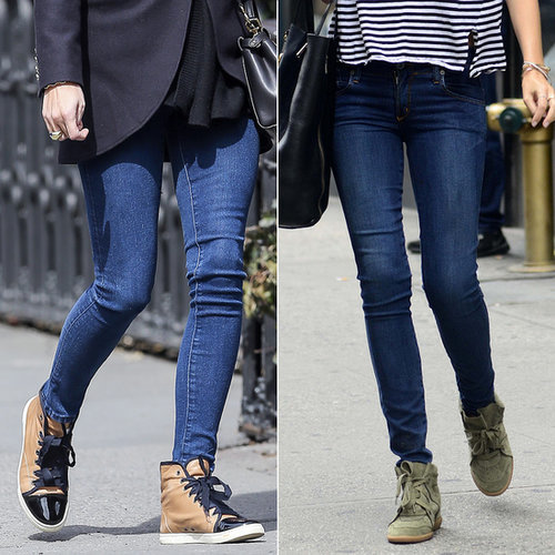 Celebrities Wearing Sneakers