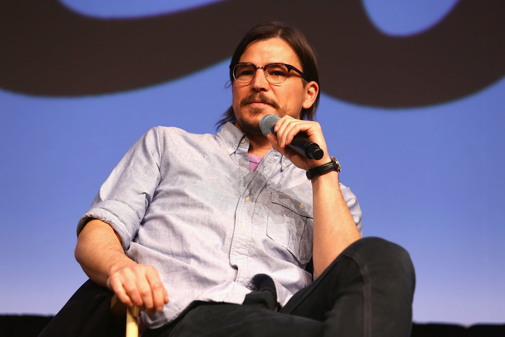 Josh Hartnett wore his glasses to the Penny Dreadful Q&A on Sunday.