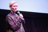 Tilda Swinton addressed the audience at the Only Lovers Left Alive Q&A on Saturday.