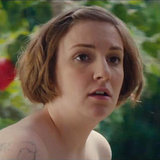 Lena Dunham Nude in SNL's Biblical Movie 'Girls' Parody