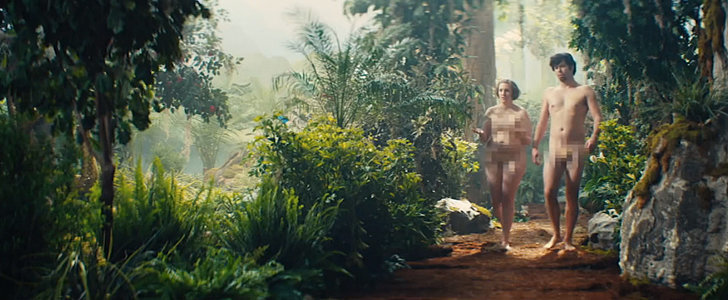 Lena Dunham Channels Eve in Nudity-Heavy SNL Parody